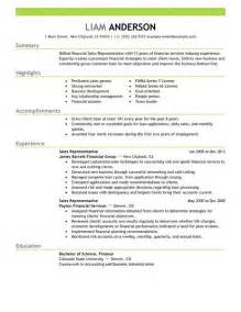 Exle Of A Sales Resume by Best Sales Representative Resume Exle Livecareer