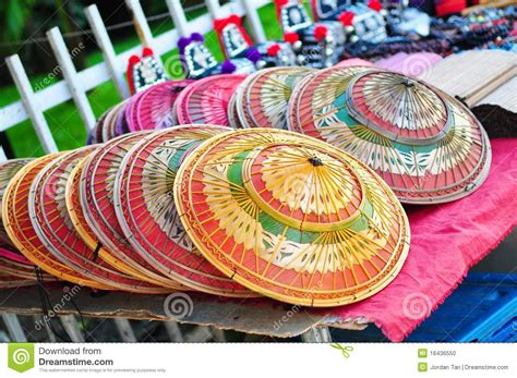 Handmade Thailand - handmade hats in thailand stock photo image of product