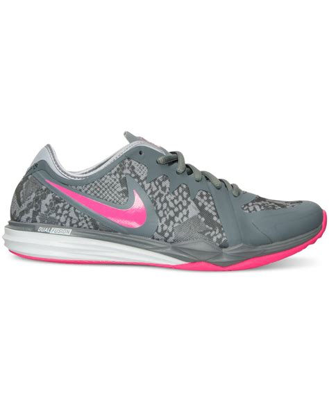 workout sneakers nike s dual fusion tr 3 print sneakers from