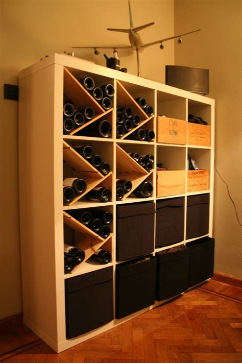 ikea weinregal how to combine ikea items to build your own wine rack