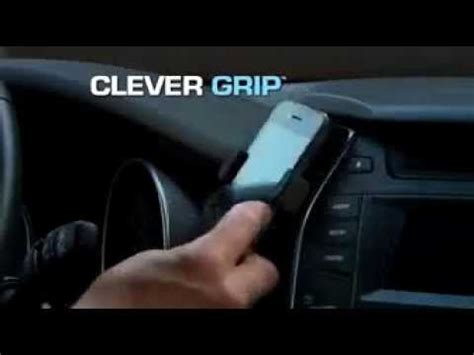 Clever U Grip Smartphone Holder clever grip commercial as seen on tv smart phone car holder clever best as seen on tv phone