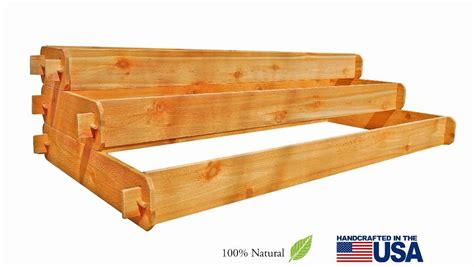 raised bed kit 3 tier raised garden bed kits for sale timberlane gardens