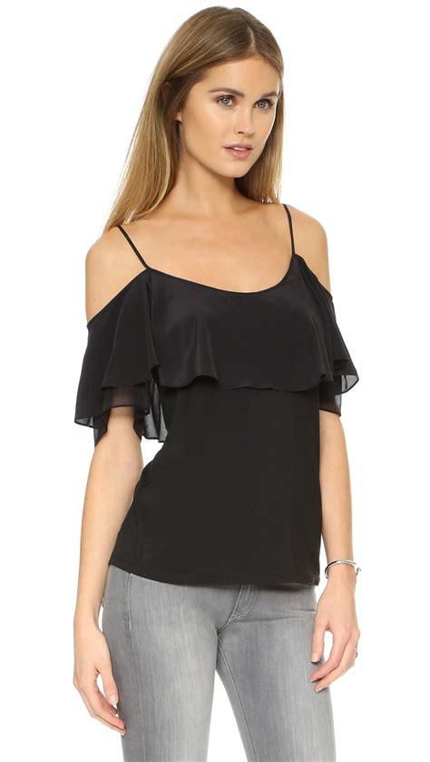 Shoulder Blouse And by Shoulder Baring Blouses Collar Blouses