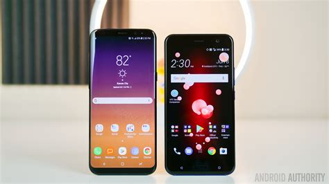 V Samsung Htc U11 Vs Samsung Galaxy S8 Android Authority