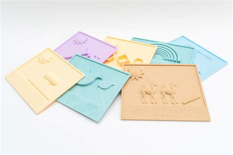 3d Printed Books To Help The Blind Think3d
