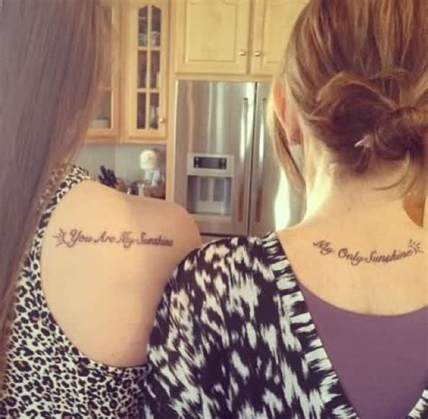 mother daughter quote tattoos quotes quotesgram