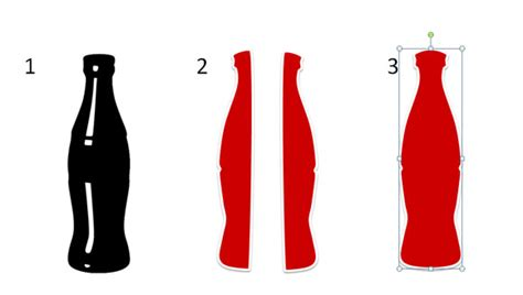 How To Draw A Coca Cola Bottle In Powerpoint 2010 Using Shapes Powerpoint Presentation A Coke Template
