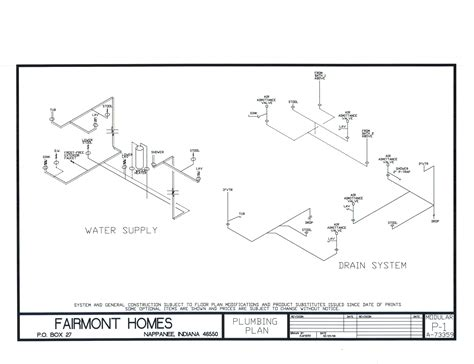 Typical Home Plumbing Diagram by 2 Best Images Of Mobile Home Plumbing Diagram Typical