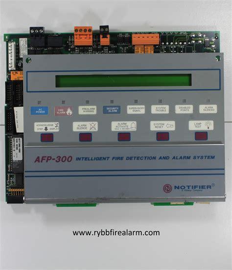Alarm Notifier notifier afp 300 panel rybb alarm