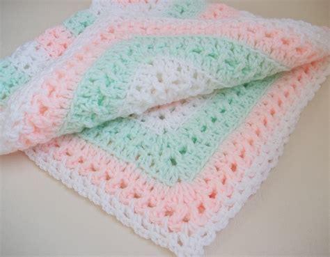 Handmade Baby Blanket - baby blanket handmade baby blanket crochet baby