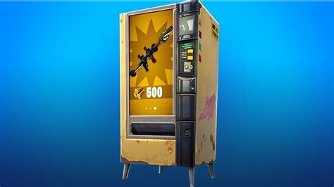 fortnite vending machine fortnite vending machine locations and what they do