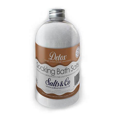 Lemongrass Detox Bath by Detox Bath Salts By Salts Co Lemongrass Orange