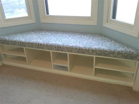 bay window bench seat trapezoid cushion custom cushion bay window seat cushion
