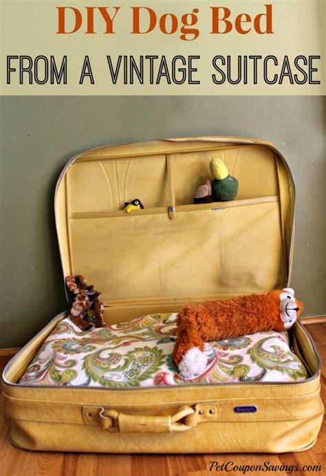 diy pit supplies diy bed with vintage suitcase