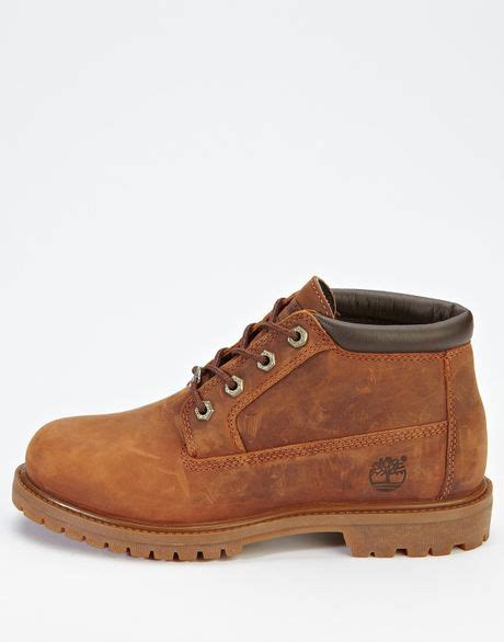 timberland timberland nellie ankle boots brown in