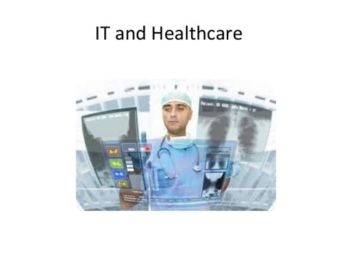 health care information healthcare and information technology