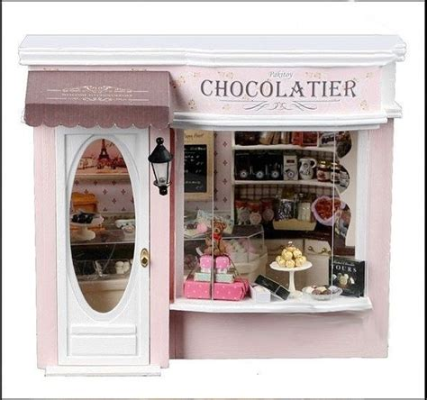doll house store dollhouse miniature chocolate store miniature shop sweet shop p