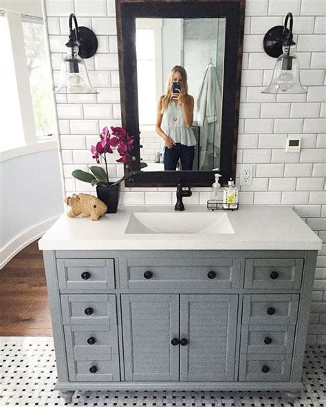 bathroom sink vanity ideas 25 best ideas about gray vanity on grey
