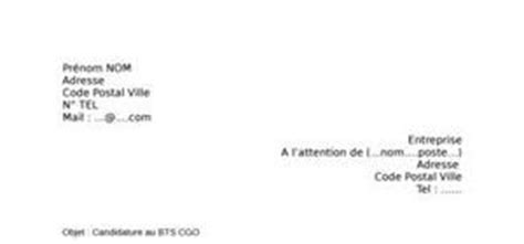 Lettre De Motivation Apb Bts Cgo Lettre De Motivation Bts Cgo