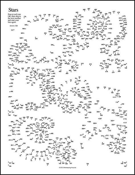 Greatest Dot To Dot Printables
