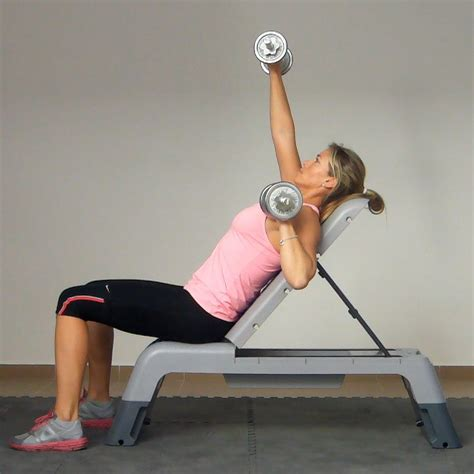 dumbbell alternating bench press bench press incline alternating exercise golf loopy