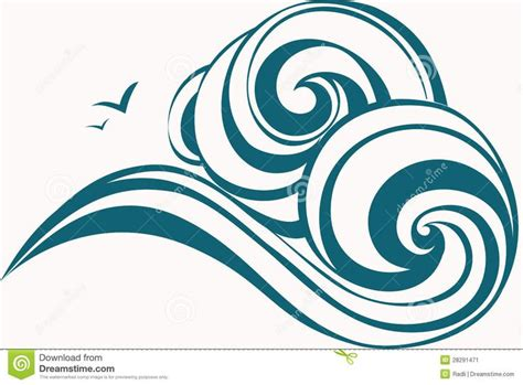 basic simple wave symbol drawing ideas the 25 best wave drawing ideas on wave