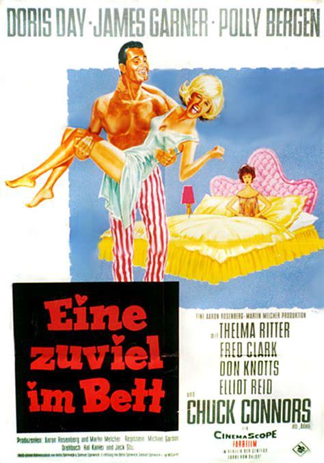 eine zuviel im bett filmplakat eine zuviel im bett 1963 filmposter archiv