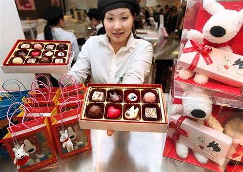 Giving Valentines Gifts In Japan And Korea by La Valentin Au Japon Nippon Infos Japon