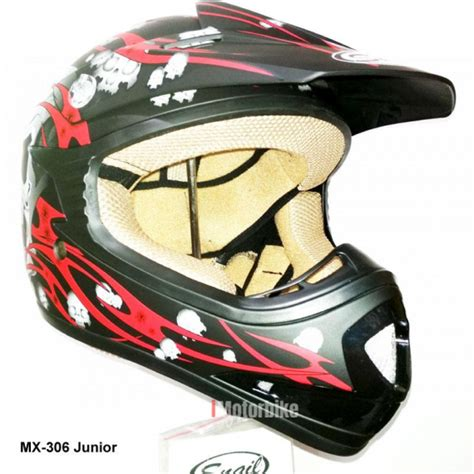 Helm Cross Snail Wolf helm cross anak snail motif 3 helm imotorbike co id