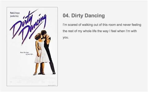 film quotes dirty dancing dirty dancing movie quote memorable words pinterest