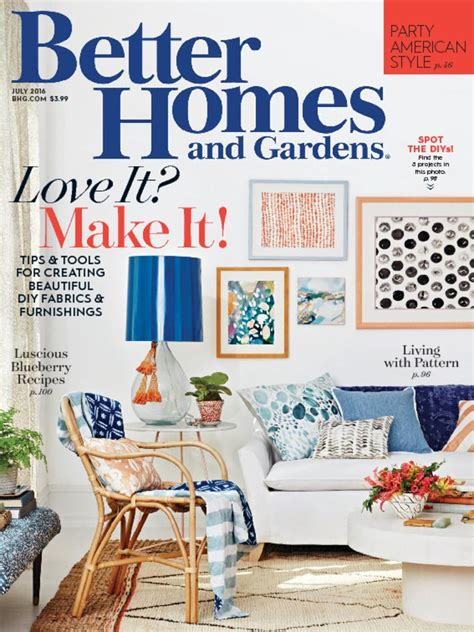 homes garden magazine subscription deals