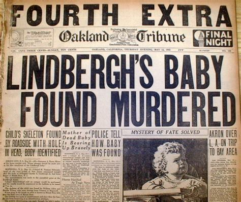 news of a kidnapping 4 1932 newspapers w best display headline kidnapped lindbergh baby found dead ebay