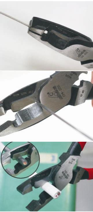 Insulated Wire Stripping Plier Cr Mo steel n wire cutting n crimping pliers alstrong tools