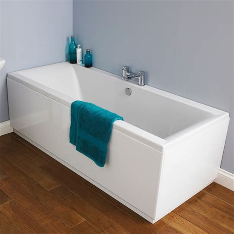 double ended bathtub square double ended bath with panel options