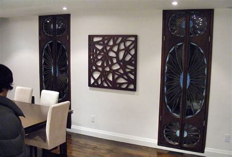Wood Decorations For Home by Decorative Mirror Wood Interior Design Decor Artsigns