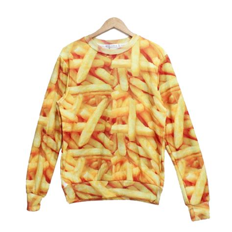 Sweater Fries fries sweater back order holypink