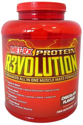 x revolution creatine met rx r3volution protein revolution met rx