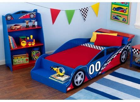 kidkraft racecar toddler bed 76040 toddler bed the o jays and bed furniture on pinterest