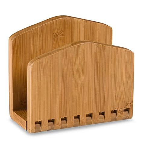 bathroom napkin tray buy lipper international bamboo napkin holder from bed bath beyond