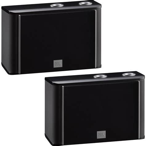 jbl es10b 3 way bookshelf speaker black pair es10bk b h