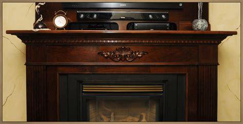 custom solid wood fireplace mantels whitby ottawa
