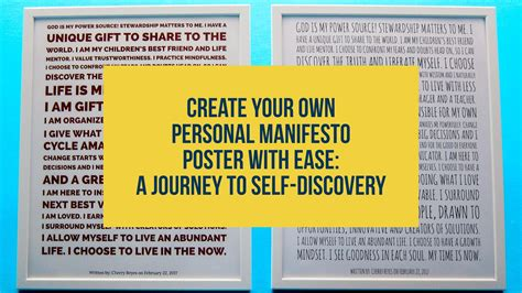 design manifesto definition create your own personal manifesto poster with ease a