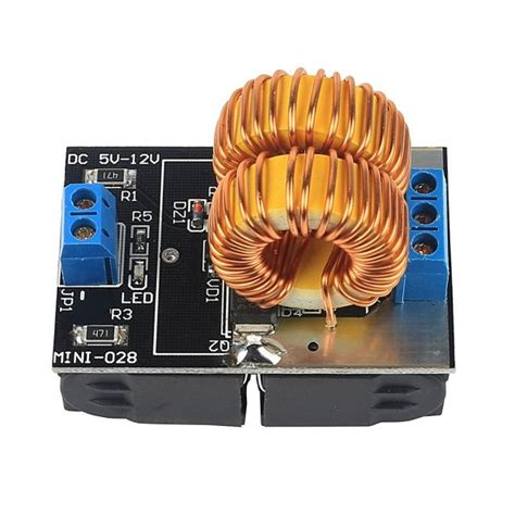 induction heating power supply module with coil sainsmart 5v 12v zvs induction heating power supply module tesla jacob s ladder coil 3d