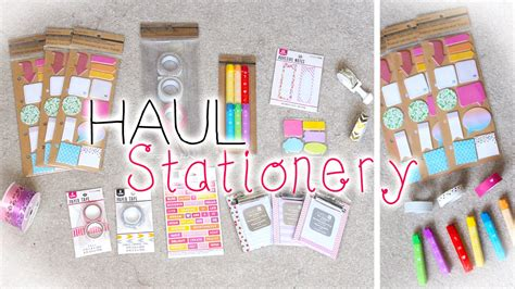 8 Adorable Stationery Kits by Planner Stationery Supplies Haul New