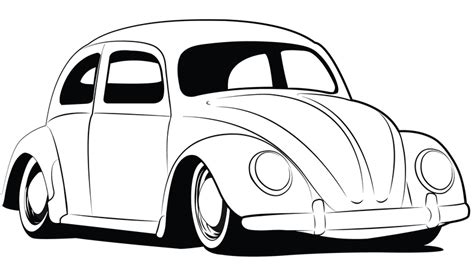 volkswagen bug drawing bug coloring pages vw vw bug drawings http