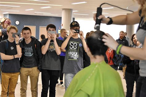 student haircuts chicago new trier students eschew hairstyles hair to show