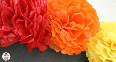 homemade flowers how to make tissue paper flowers hoosier homemade