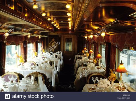 Singapore Airlines Orient Express Of The Skies by Dining Car On The Eastern Express