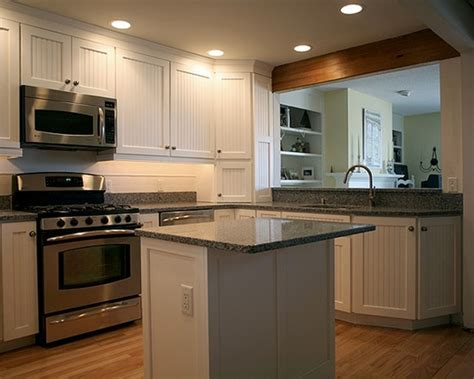 Small Kitchen Design With Island 54 Beautiful Small Kitchens Design Kitchens Beams And Stove