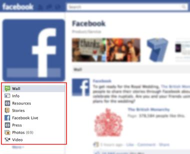 ways to add custom tabs on a facebook page